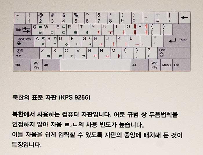 북한의 표준 자판