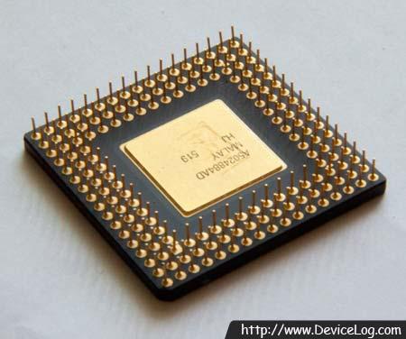 인텔 486DX4-100 CPU 뒷면 (2)