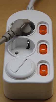 멀티탭 접지 불량 예방