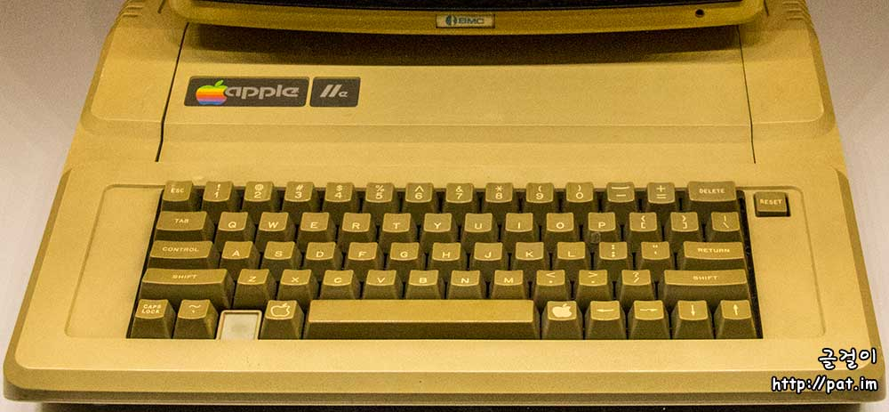 애플 Ⅱe 글쇠판 (Apple IIe keyboard)