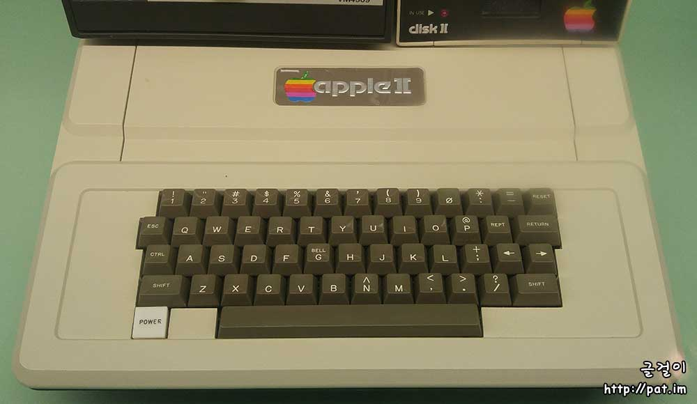 애플 Ⅱ 글쇠판 (Apple IIe keyboard)